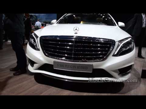 The KING of ROAD - MERCEDES S500 Plug In HYBRID - Paris Motor Show 2014