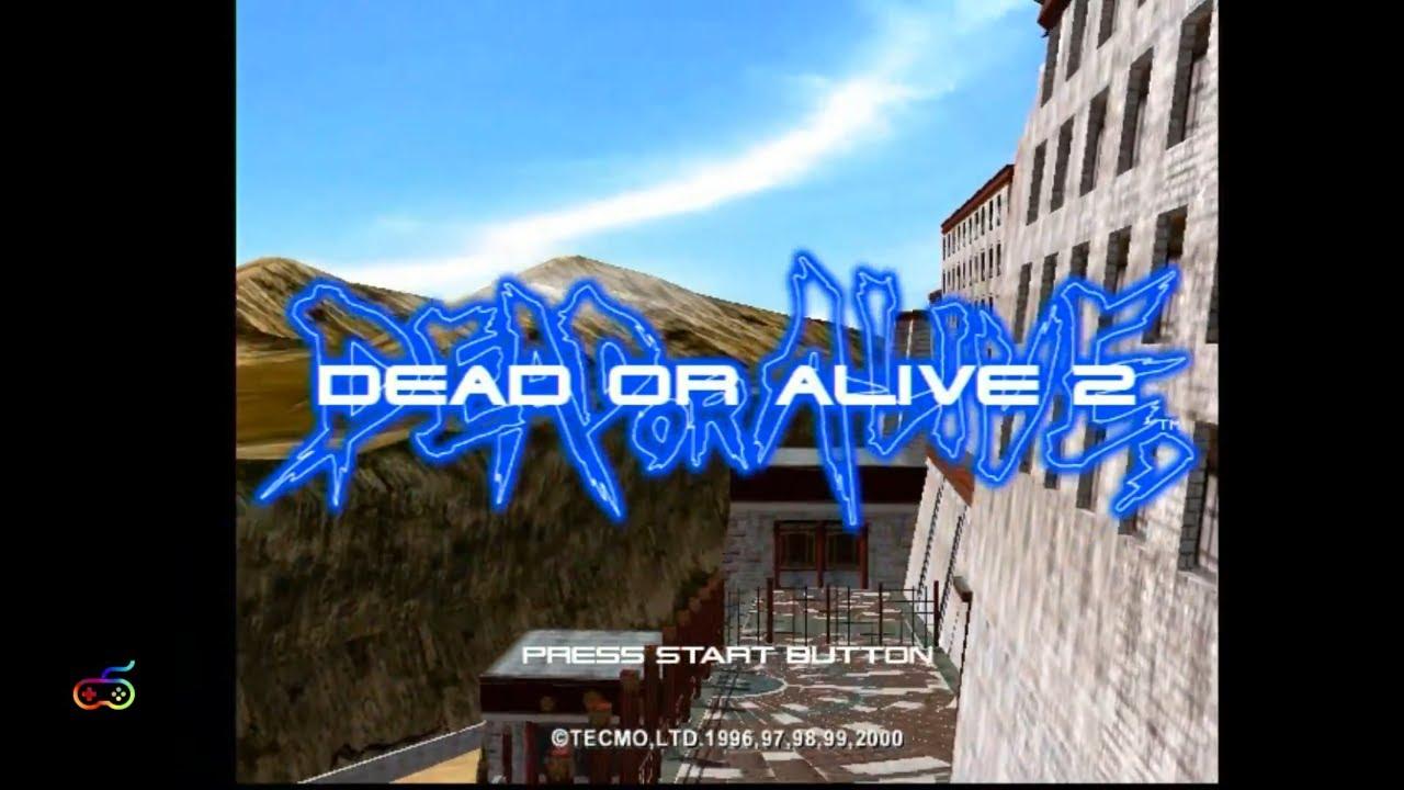 Dead or Alive 2 | Sega Dreamcast | HD VGA 480p 60fps | Playthrough | hdRGB