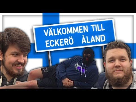 Anomaly goes to Åland (Finland)