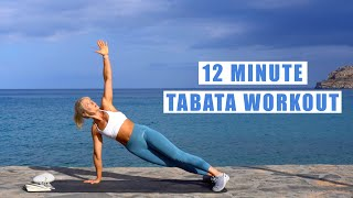 12-Minute Full Body Tabata Workout | Tabata Songs