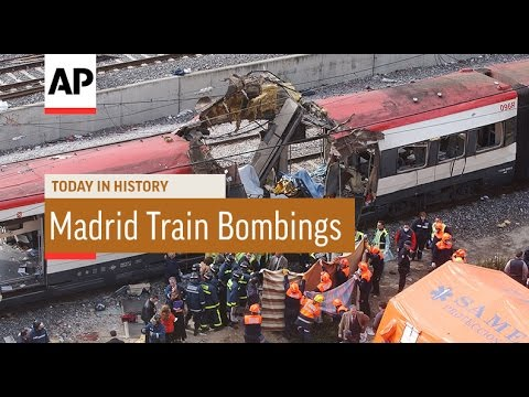 Madrid Train Bombings - 2004   Today In History   11 Mar 17