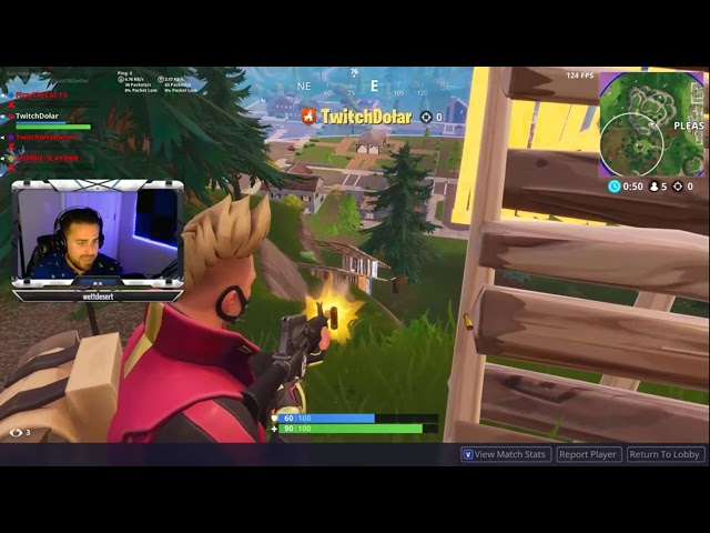 Freestyle Rapping while Dolar clutches the Victory Roayle