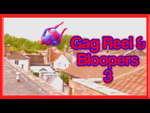 GAG REEL & BLOOPERS 3 | Spiderman, Santa, Arrow, Assassin's Creed & More