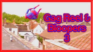 GAG REEL & BLOOPERS 3 | Spiderman, Santa, Arrow, Assassin's Creed & More