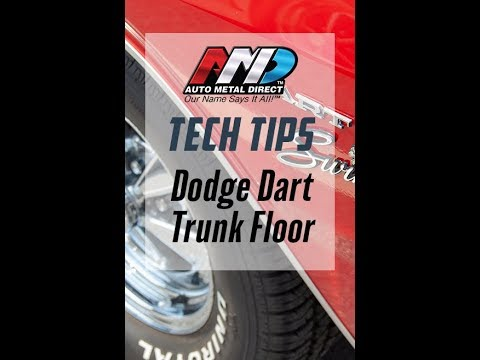 Auto Metal Direct Tech Tips - Dodge Dart Floor Pan Installation by Craig Hopkins
