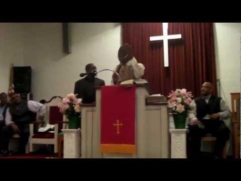 Min. Randy Miller's Initial Sermon