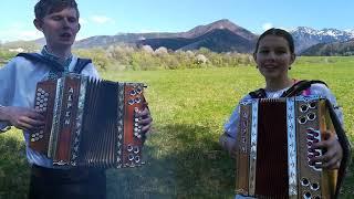 Heligónka Aneta a Martin Poliakovci - Bolo raz zvečera krásne