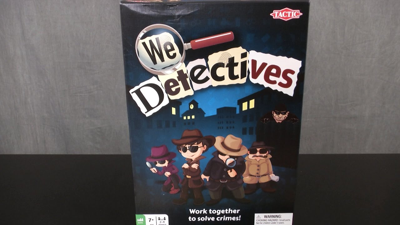 We Detectives Game from Tactic Games
