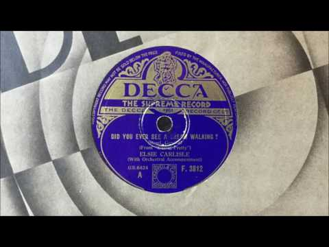 "Elsie Carlisle - ""Did You Ever See a Dream Walking?"" (1933)"