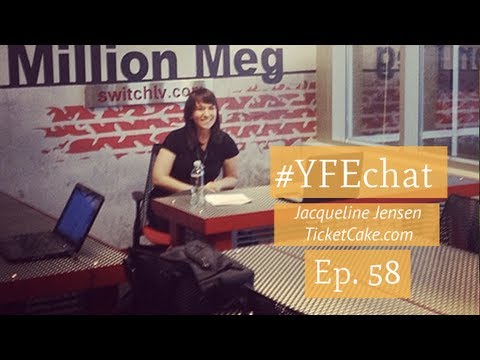 How to Show Up with Vegas Tech's Jacqueline Jensen (#YFEchat ...