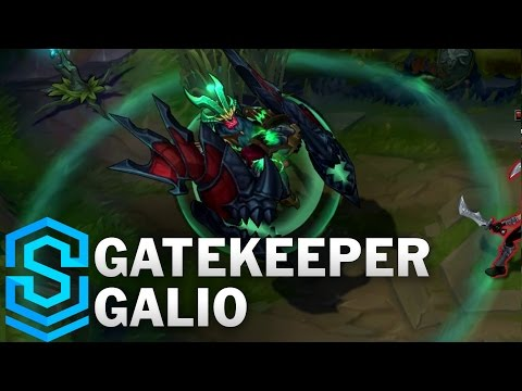 Gatekeeper Galio (2017) Skin Spotlight - League of Legends