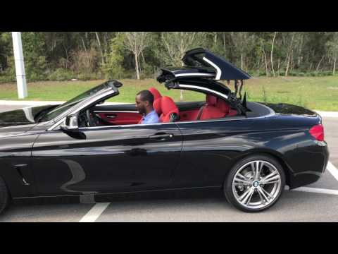 2017 BMW 430i Jet Black Convertible / BMW Walkaround / BMW of Ocala