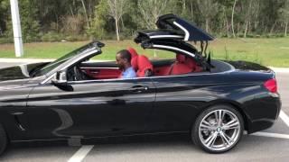 2017 BMW 430i Jet Black Convertible / BMW Walkaround / BMW of Ocala