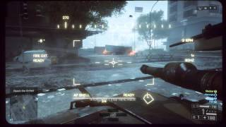 Battlefield 4 - Singapore: Operate Tank Sequence, Destroy Tanks, Infrared, Weapon, Gadget Crates PS4