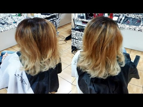 Как сделать омбре How to ombre hair
