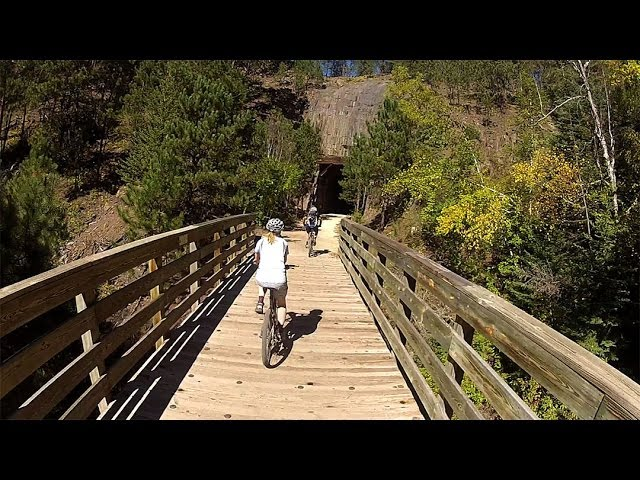 Piece of Heaven - A Brief History of the Mickelson Trail (new)