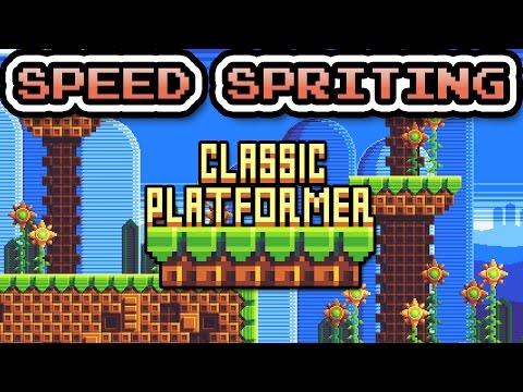 Speed Spriting - Classic Platformer
