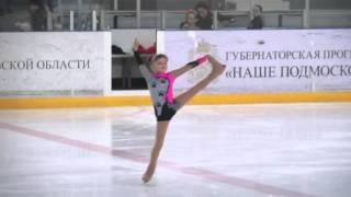 """Фигурное катание """"Кошки"""" Абалмазова Кристина 2 юн. разряд 7 лет."""