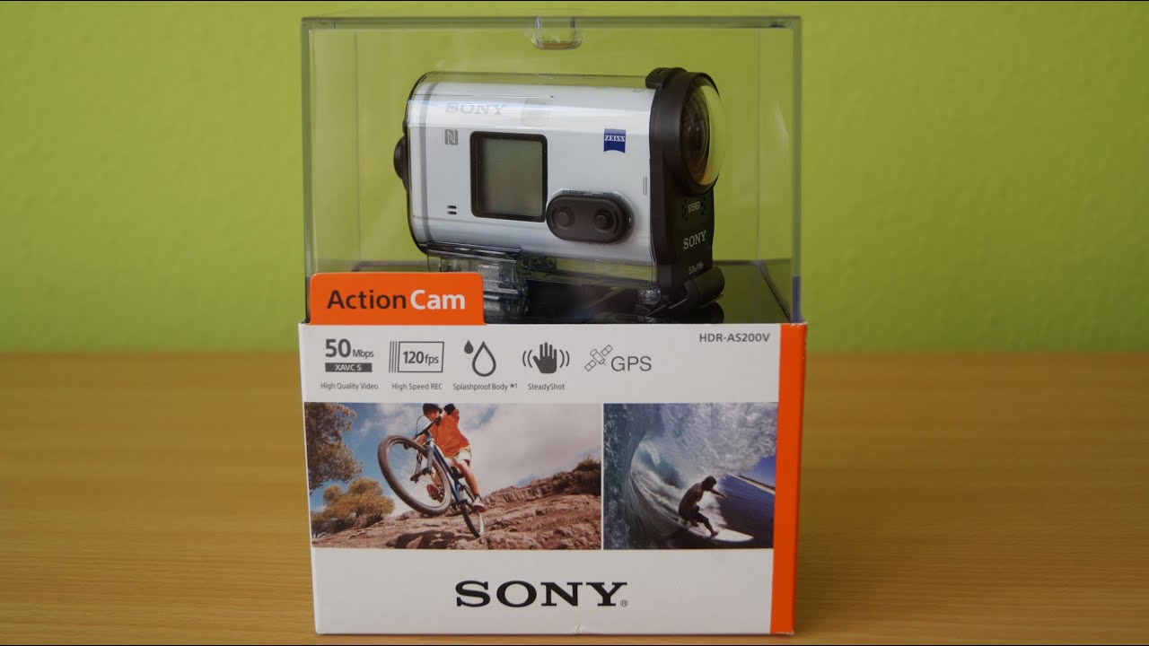 sony hdr as200v unboxing youtube. Black Bedroom Furniture Sets. Home Design Ideas