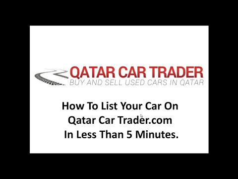 Sell Used Car Qatar : Qatar Car Trader: Less Than 5 Minutes