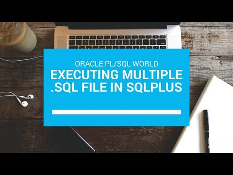 How to run Oracle Multiple .sql Script files using Single .sql file ...