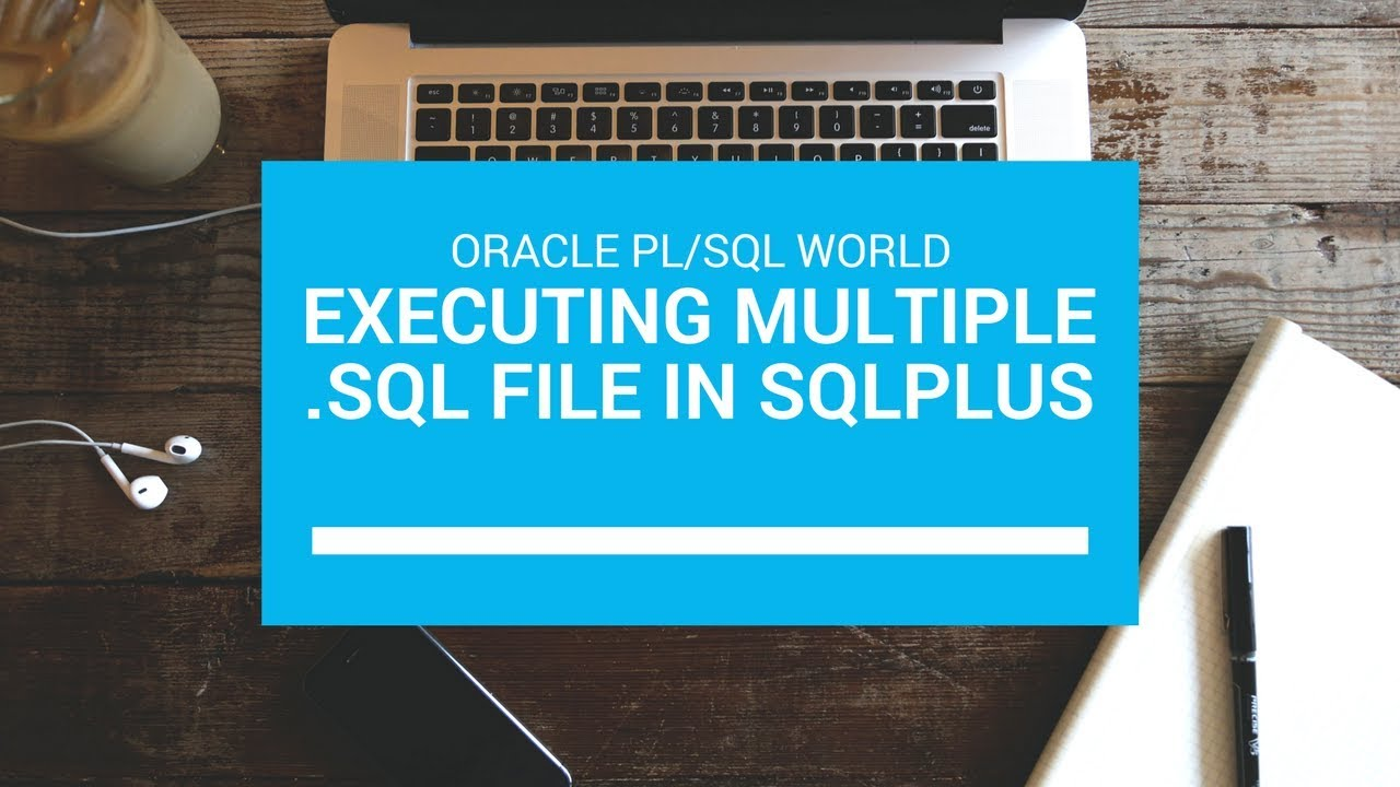 How to run Oracle Multiple  sql Script files using Single  sql file using  sqlplus command line?