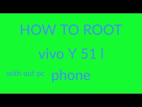 In This video I Showed That how u can Root Your Vivo Y51l Android version 5.0.2.So If u Like my Vide.