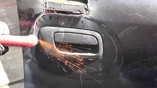 Plasma cutter car thieves
