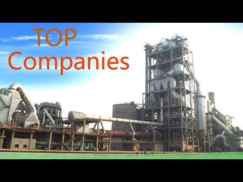 Top 10 Largest Cement Companies in The World