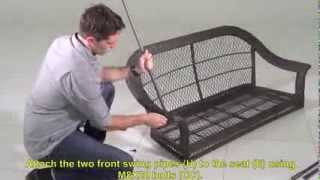 Home Depot Wicker Swing