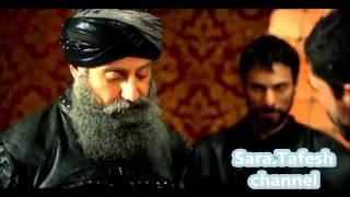 محاولة اغتيال السلطان سليمان   لكن الامير مصطفى ينقذه   مشهد بقمة الروعة