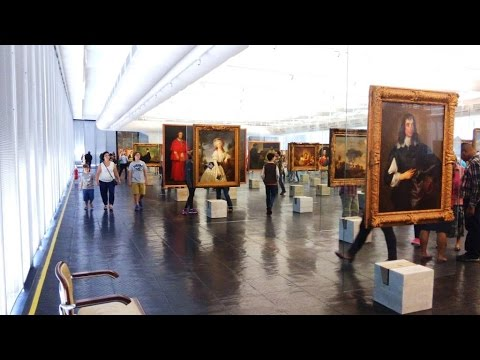 Por Dentro Do MASP - Museu De Arte De São Paulo (Art Museum Of Sao Paulo) [HD]