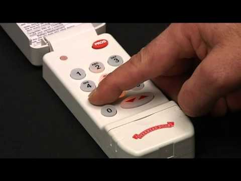 How To Program A Wireless Keypad To Garage Door Opener Codedodger