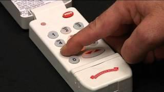كيفية برمجة لوحة المفاتيح اللاسلكية أن فتحت باب المرآب | CodeDodger® أوديسي والمصير