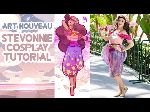 Art Nouveau Stevonnie Cosplay Tutorial - 동영상