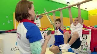 Открытое первенство на призы Деда Мороза в школе гимнастики AGGYM 2 группа