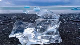 jokulsarlon glacier lagoon iceland may 2016