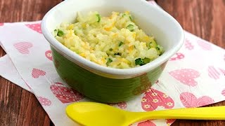 Recipe of traditional Italian dish, Spring Vegetable Risotto