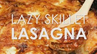 Lazy Skillet Lasagna | Rachael Ray Show