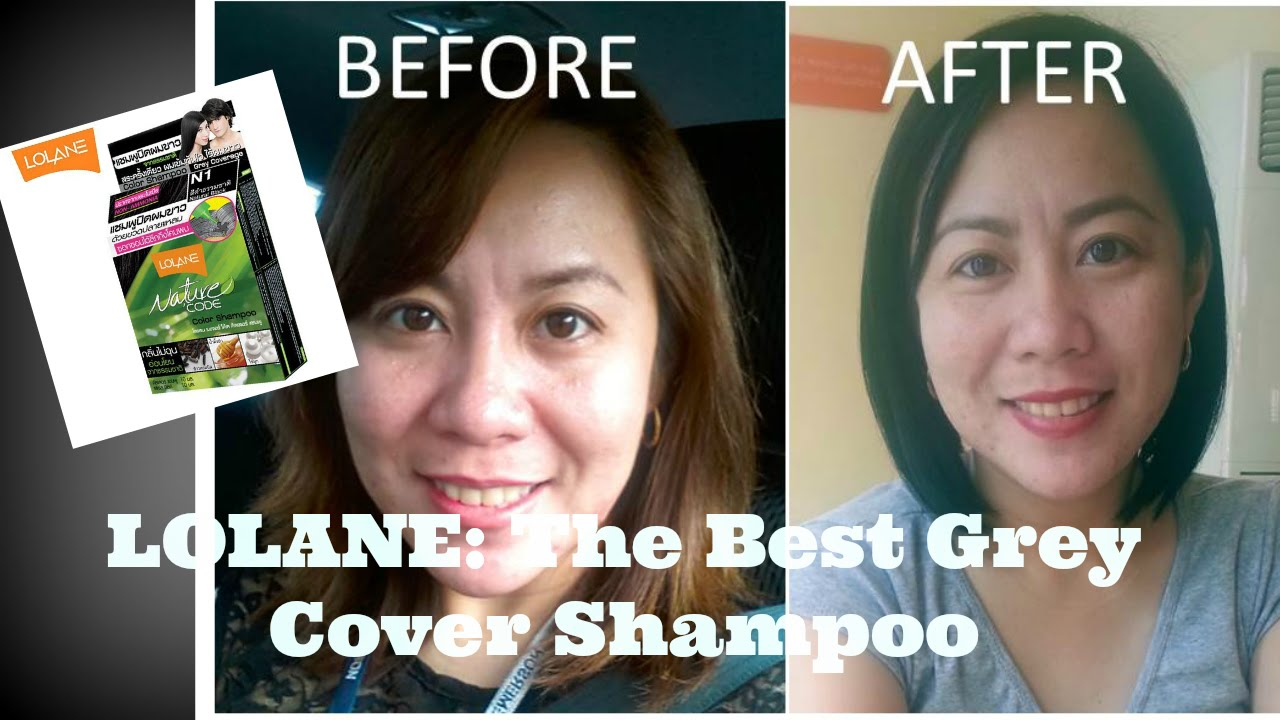 LOLANE Color Shampoo to color grey or white hair
