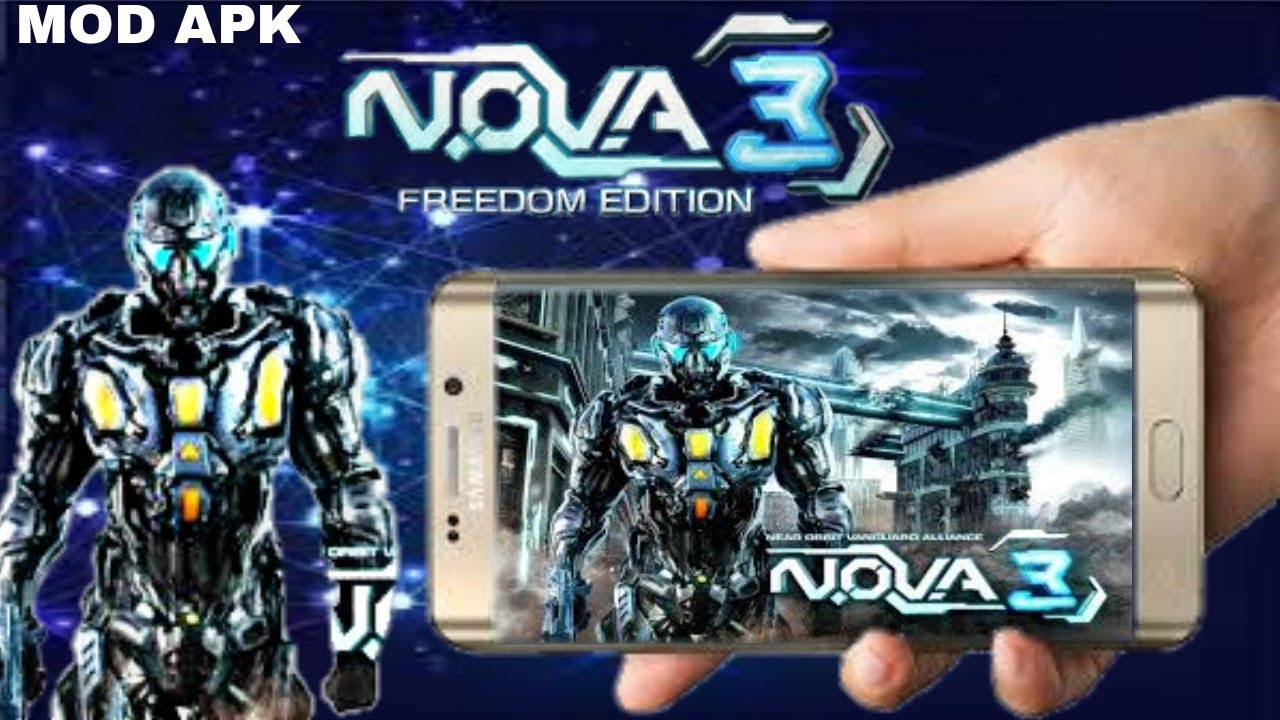 (500 MB) NOVA 3 Freedom Edition || with mod apk unlimited money || android  gameplay proof