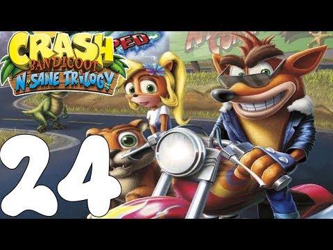 Crash Bandicoot N. Sane Trilogy! EL SALTARÍN MADAFAKA! Cap.24!