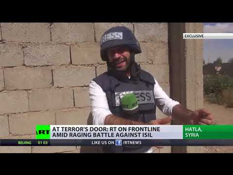 EXCLUSIVE: RT on frontline amid battle against ISIS