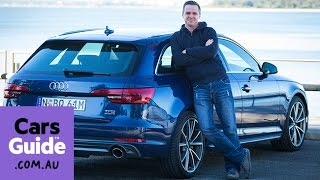audi a4 avant 2 0 tfsi quattro 2016 review   road test video