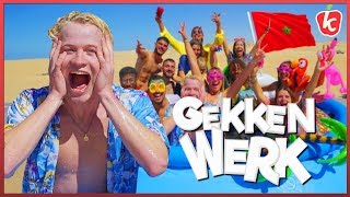 POOLPARTY IN WOESTIJN BINNEN 24 UUR   #1 GEKKENWERK   Kalvijn
