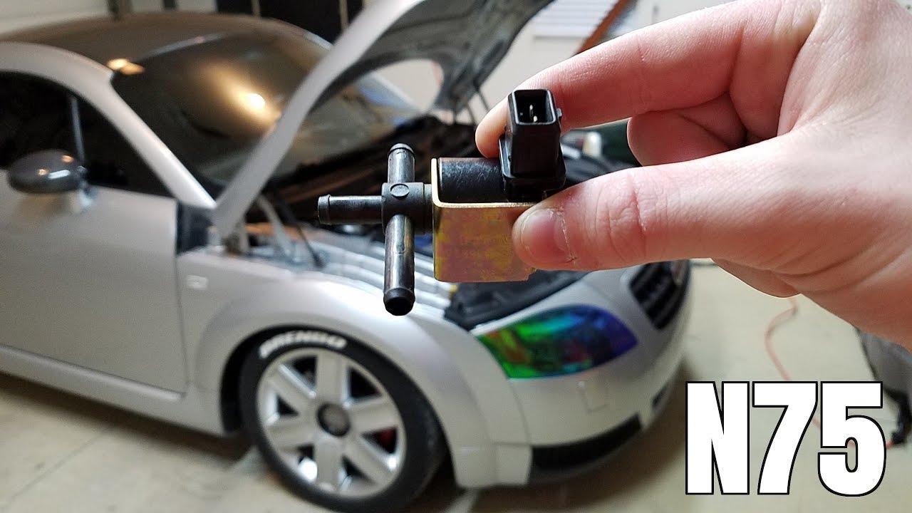 small resolution of n75 valve install audi tt