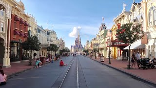 The ReOpening Day of Magic Kingdom - My Experience at Nearly Empty Walt Disney World Theme Park