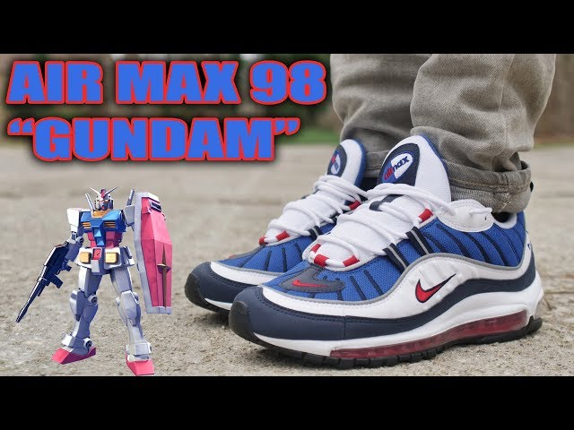 Nike Air Max 98 Og Gundam Review And On Foot Youtube