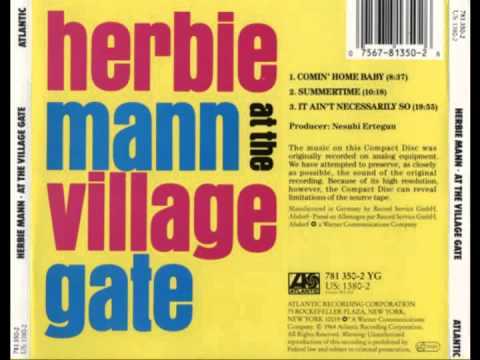 Herbie Mann - At The Village Gate (Full Album)