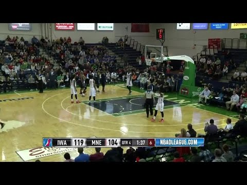 """""""James Ennis posts 30 points & 13 rebounds vs. the Red Claws, 3/18/2016"""""""